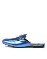 GOOGI BLUE METALLIC LEATHER