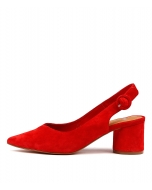 KLAAS RED SUEDE