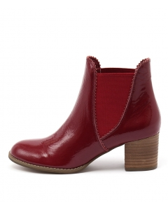 SADORE RED PATENT LEATHER