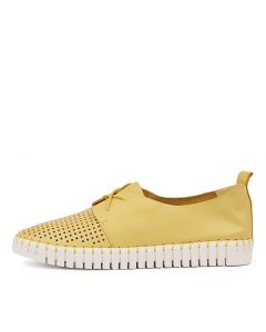 HUSTON YELLOW LEATHER