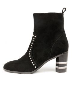 MARCELA BLACK SUEDE