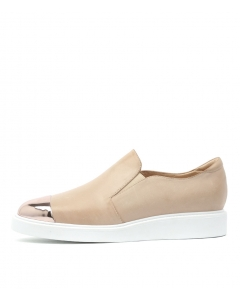 DEELIE ROSE GOLD NUDE METAL LEATHER