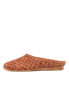 ROOLY TAN WEAVE LEATHER