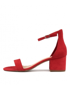 IRENE RED SUEDE