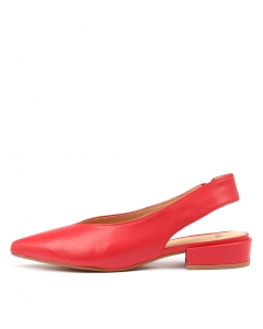 EMMIT RED LEATHER