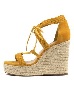 KRYSTLE YELLOW SUEDE