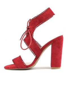 MAKHISH RED SUEDE