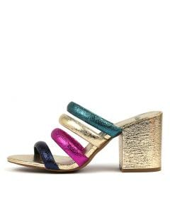 TONDASH BRIGHT METALLIC MULTI LEATHER