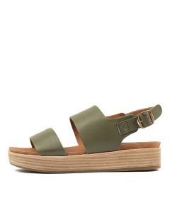 WILLIA KHAKI LEATHER