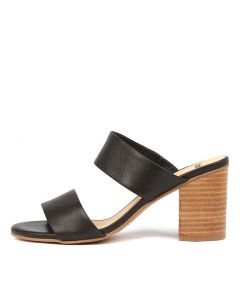 ARTOBY BLACK NATURAL HEEL LEATHER