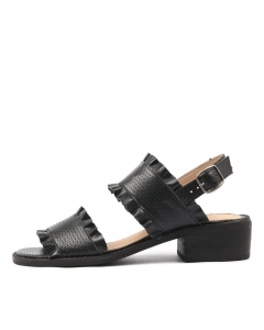 IDALIA BLACK LEATHER